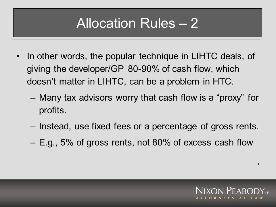 Allocation Rules – 2