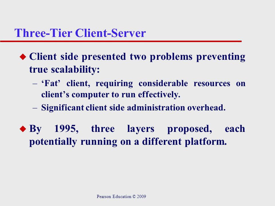 Three-Tier Client-Server