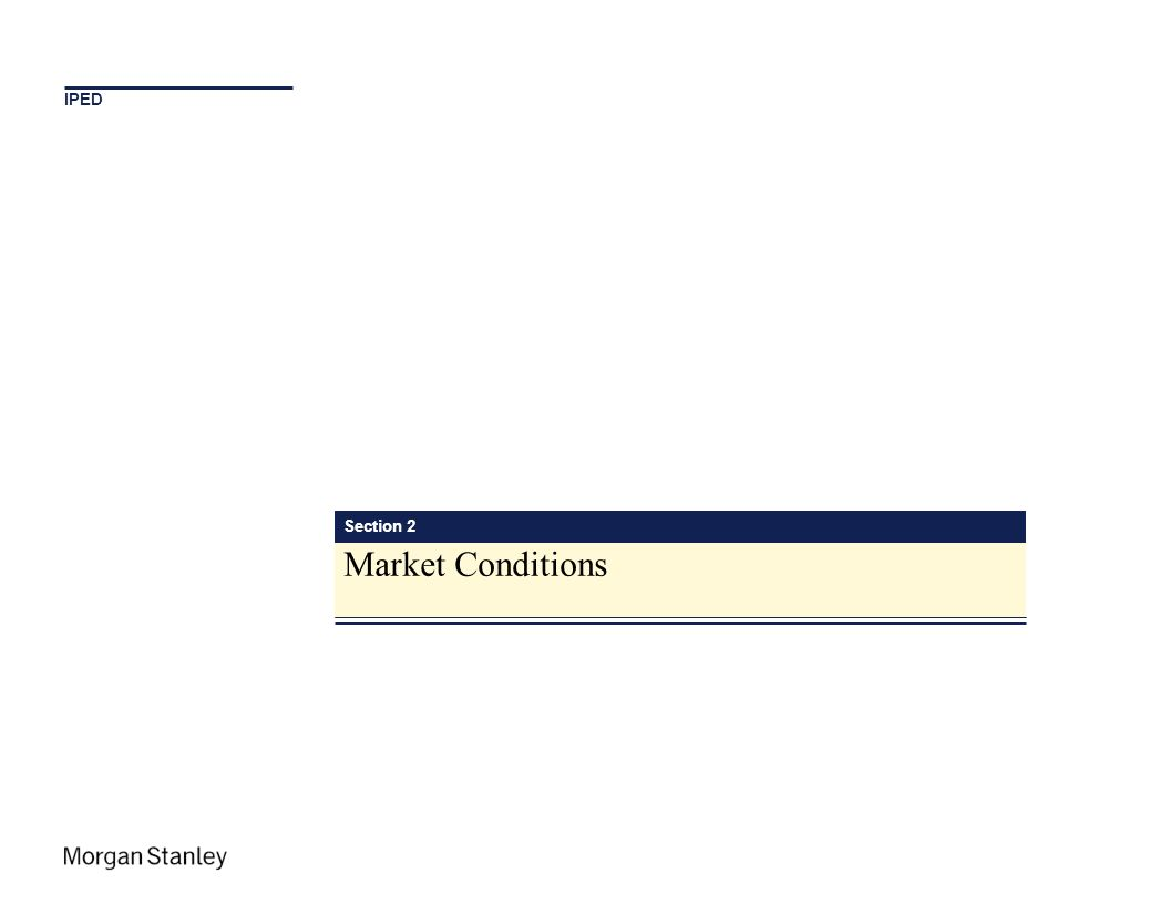 IPED Section 2 Market Conditions