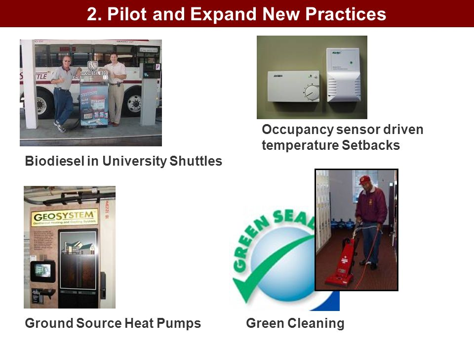 2. Pilot and Expand New Practices