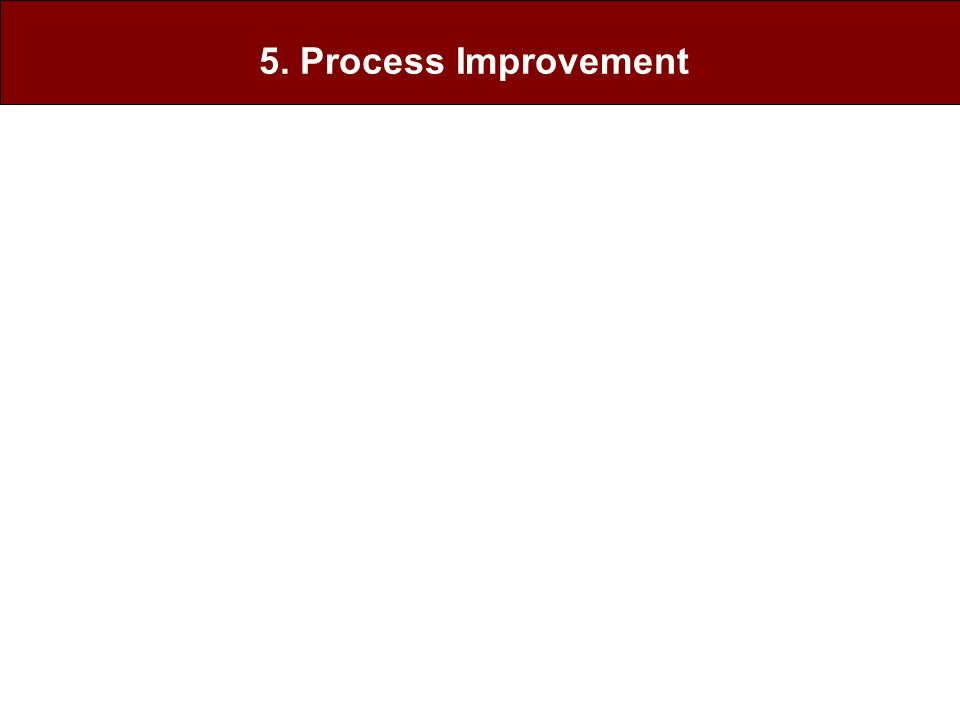 5. Process Improvement