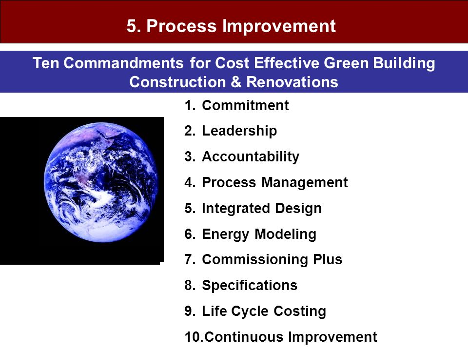 5. Process Improvement Process Quality Control & Continuous Improvement.