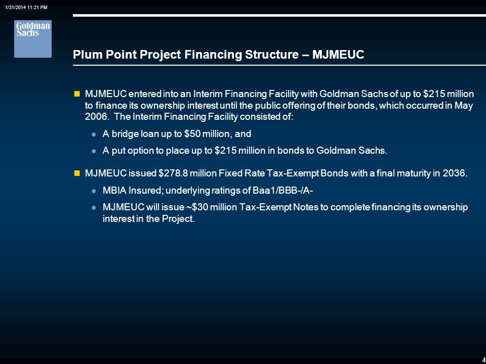 Plum Point Project Financing Structure – MJMEUC