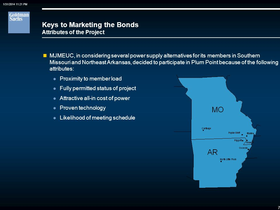 Keys to Marketing the Bonds Attributes of the Project