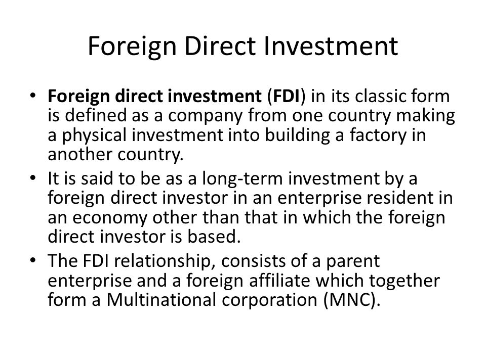 customer relationship management in foreign direct Relationship between fdi and telecommunication growth in  the empirical relationship between foreign direct  management practices, etc , used by foreign.