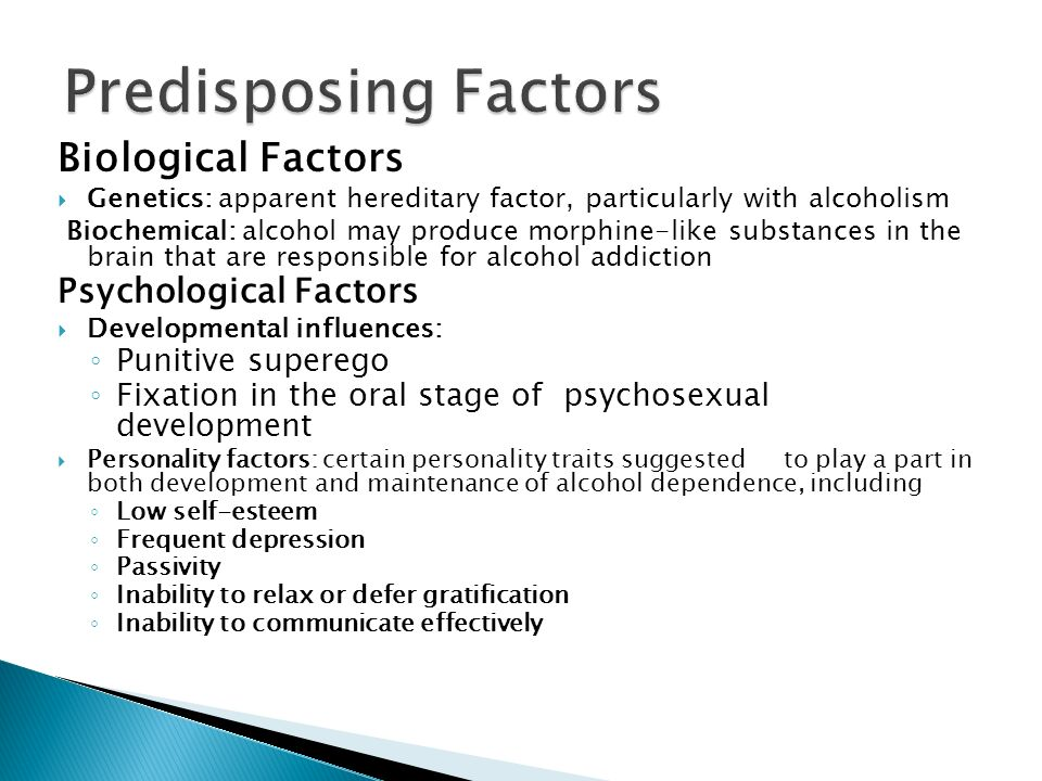 biological factors in psychology Biological approach in psychology: definition & summary genetic  predisposition:  how environmental variables & other factors influence  perception.