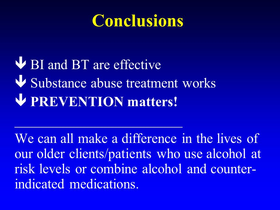 effective treatment for substance abusers This section presents examples of treatment approaches and components that have an evidence base supporting their use each approach is designed to address certain aspects of drug addiction and its consequences for the individual , family, and society some of the approaches are intended to supplement or enhance.