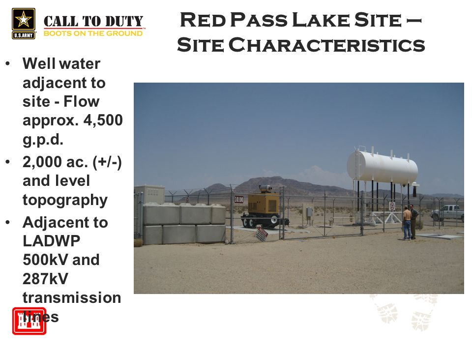 Red Pass Lake Site – Site Characteristics