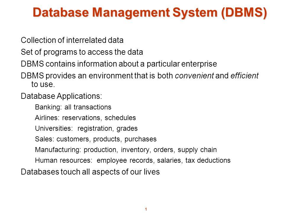Database Management System Dbms Ppt Video Online Download
