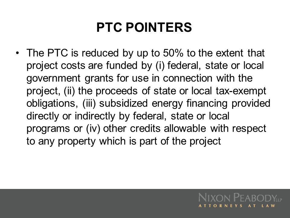 PTC POINTERS