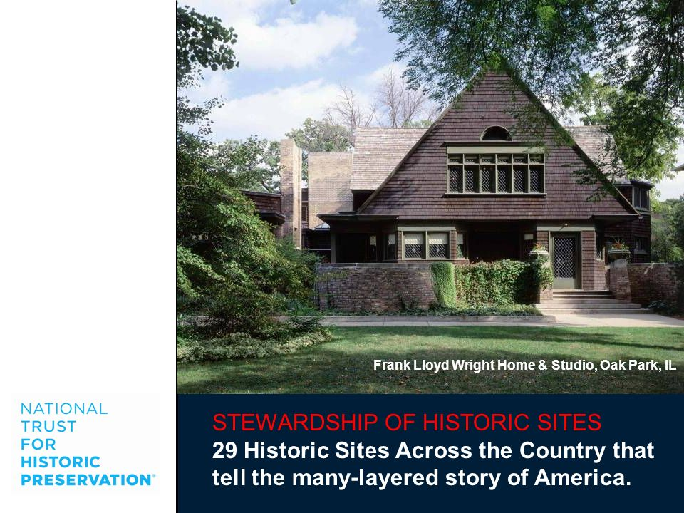 STEWARDSHIP OF HISTORIC SITES