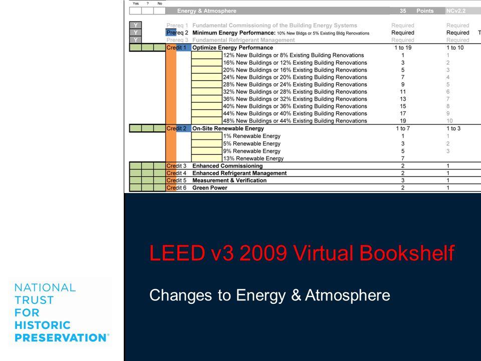 LEED v3 2009 Virtual Bookshelf