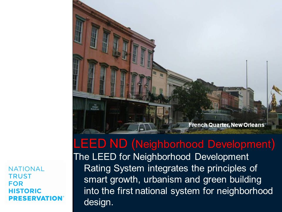 LEED ND (Neighborhood Development)