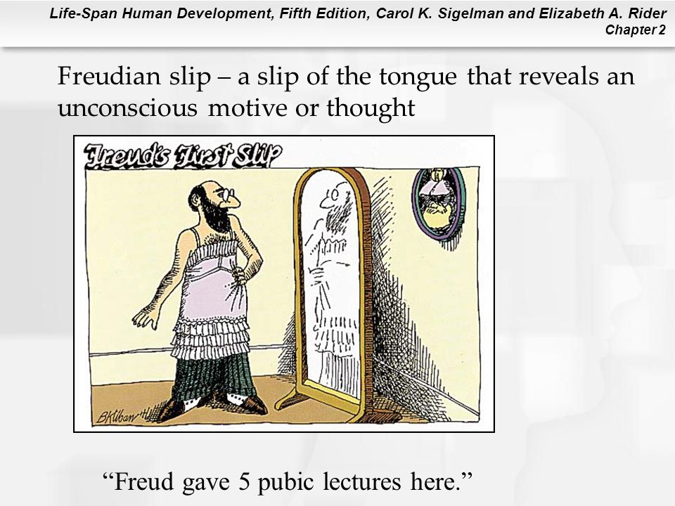 an analysis of freuds psychoanalytical views on the slips of the tongue These views were first made known generally in the interpretation of dreams  or even small slips of the tongue or pen  god as wish fulfilment.