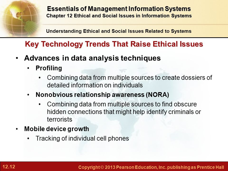 social issues in information technology Introduction: ethics of information technology in health care  important ethical and social issues this irie theme issue seeks to provide a forum to identify,.