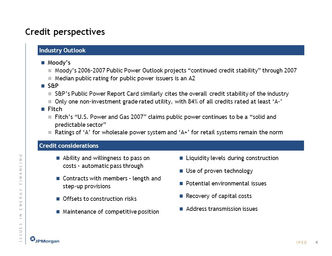 Credit perspectives Industry Outlook Moody's