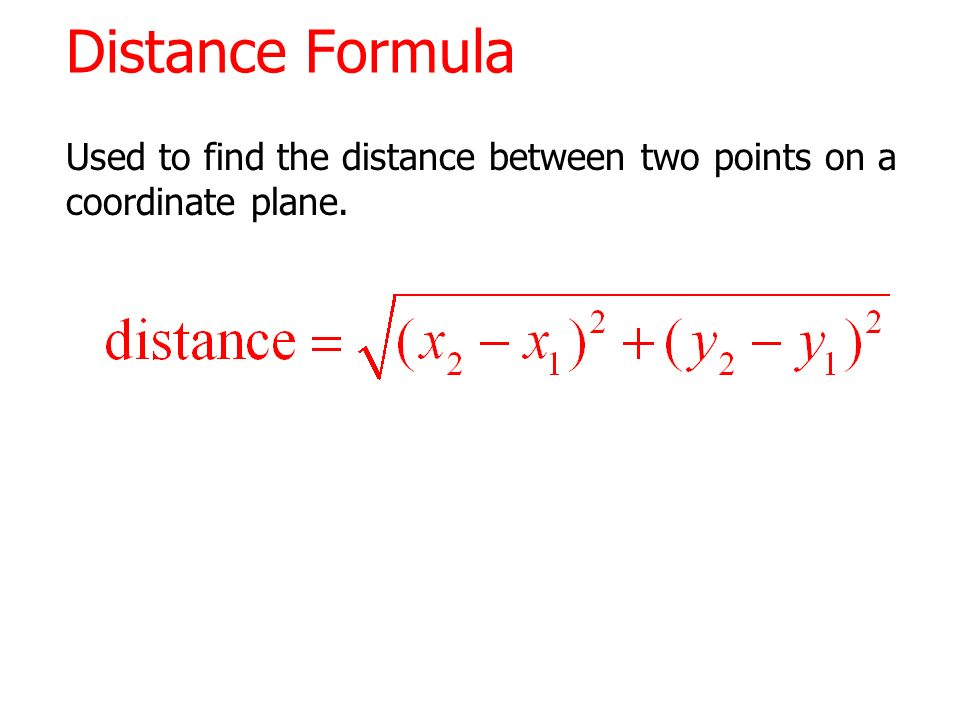 calculating distance between tow points on Knowing how to calculate the distance between two coordinates has many practical applications in science and construction to find the distance between two points on a 2-dimensional grid, you need to know the x- and y-coordinates of each point.