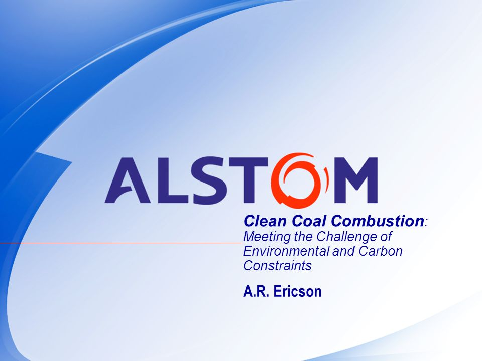 Clean Coal Combustion: Meeting the Challenge of Environmental and Carbon Constraints