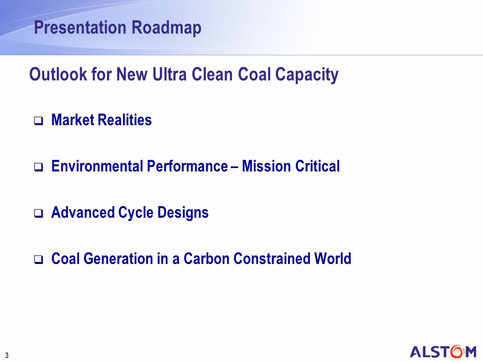 Outlook for New Ultra Clean Coal Capacity