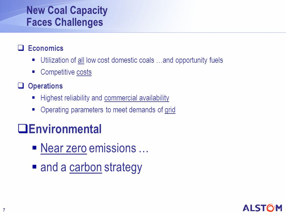 New Coal Capacity Faces Challenges