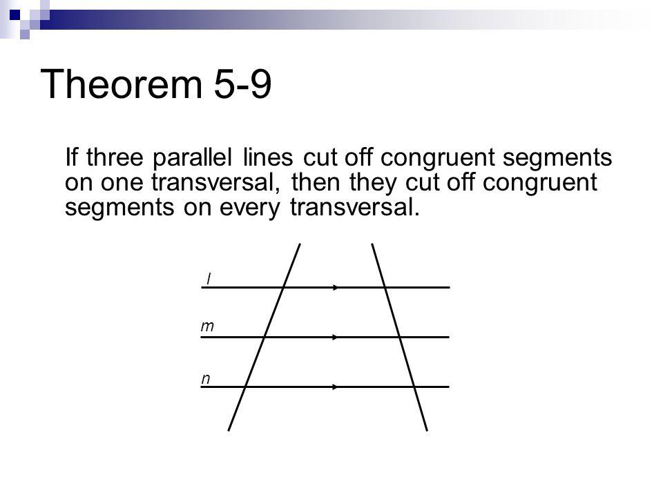 Geometry Congruent Segments Chapter 5 Pre-AP Geome...