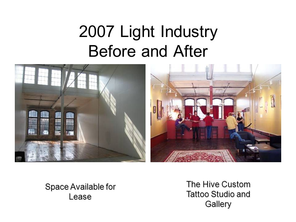 2007 Light Industry Before and After