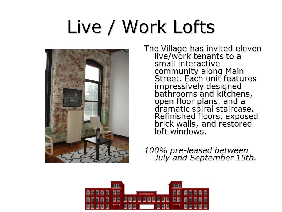 Live / Work Lofts