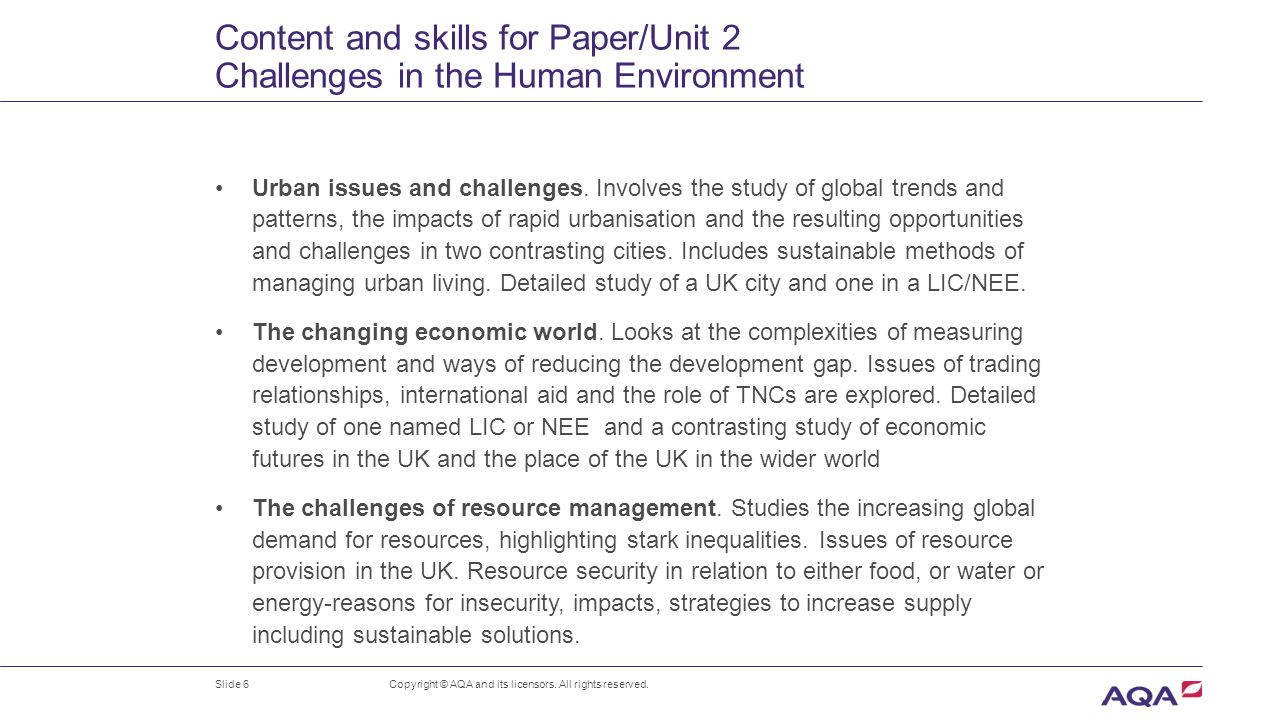 Gcse Geography New Specification Ppt Download