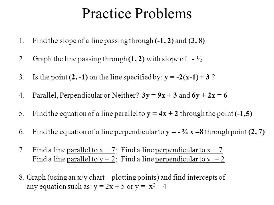 how to find a perpendicular graph