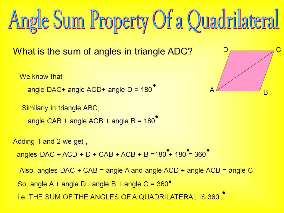 Chapter Quadrilaterals Ppt Video Online Download