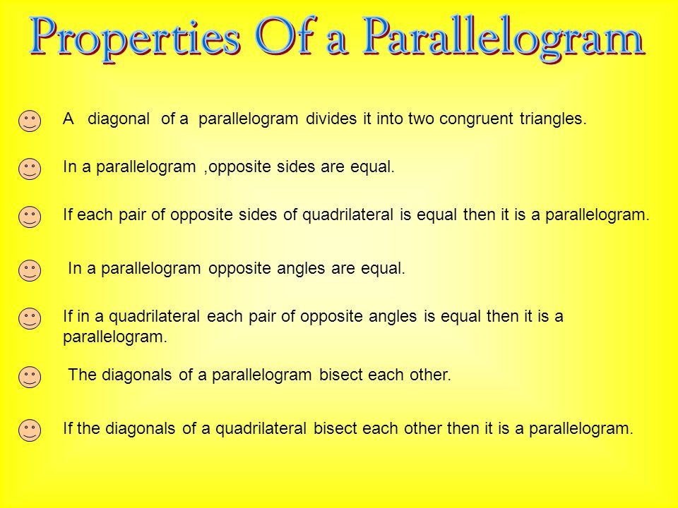 how to find the other diagonal of a parallelogram