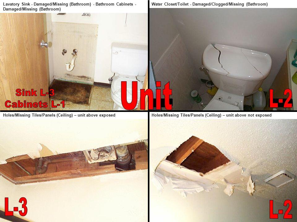 Unit Sink L-3 Cabinets L-1 L-2 L-3 L-2