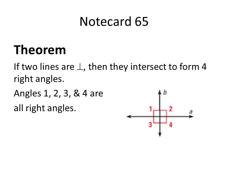Parallel and Perpendicular Lines - ppt video online download