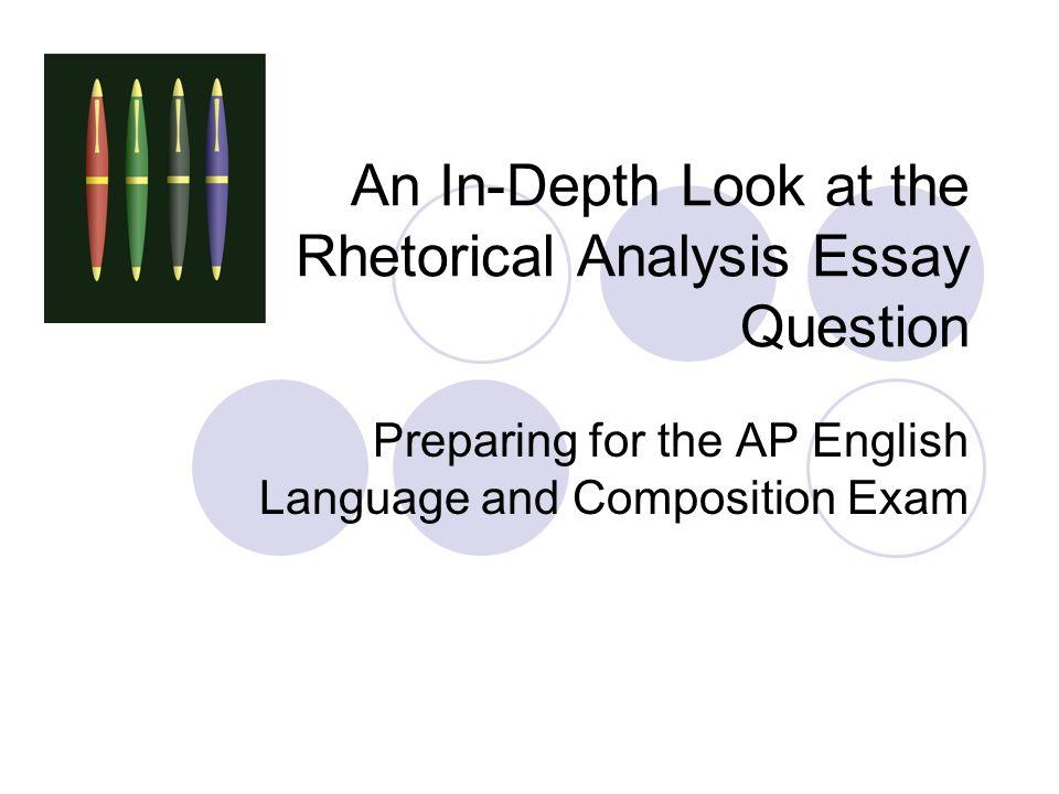 ap language and composition rhetorical analysis essay prompt Ap english language and composition the ap language and composition exampptx the rhetorical analysis essay the rhetorical analysis promptpptx.