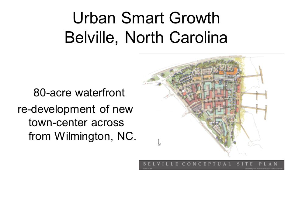 Urban Smart Growth Belville, North Carolina