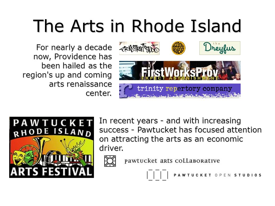The Arts in Rhode Island
