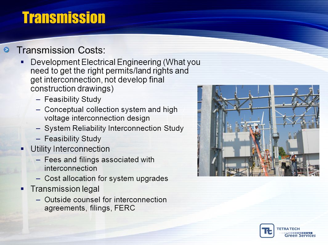 Transmission Transmission Costs: