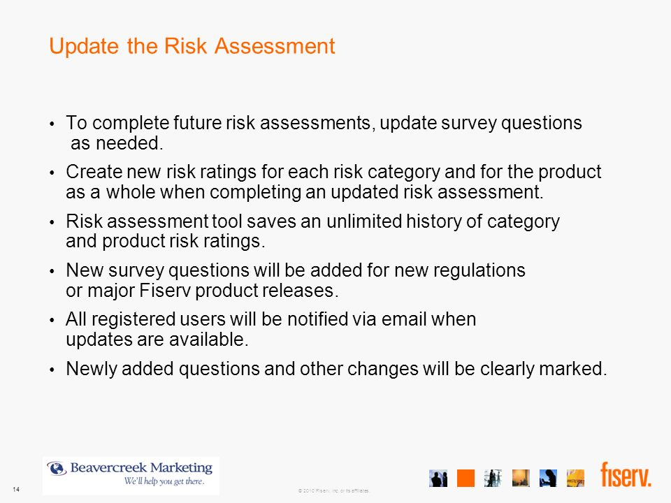 Electronic Banking Risk Assessment  Product Training  Ppt Video