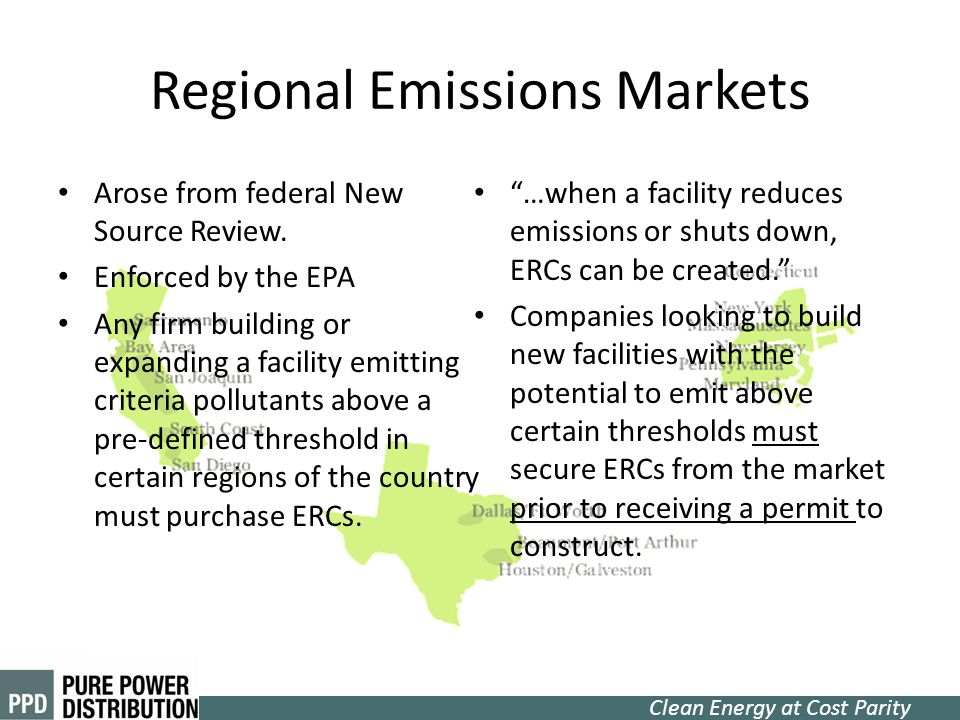 Regional Emissions Markets