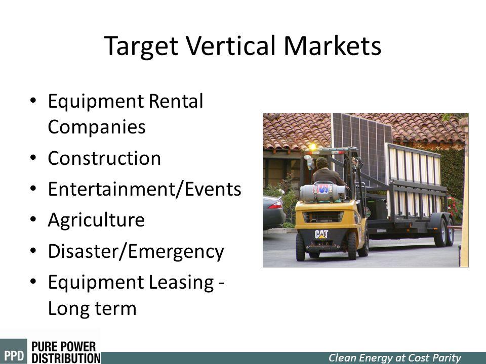 Target Vertical Markets