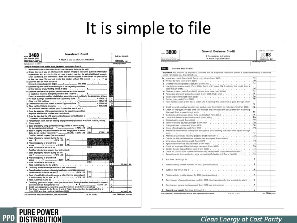 It is simple to file