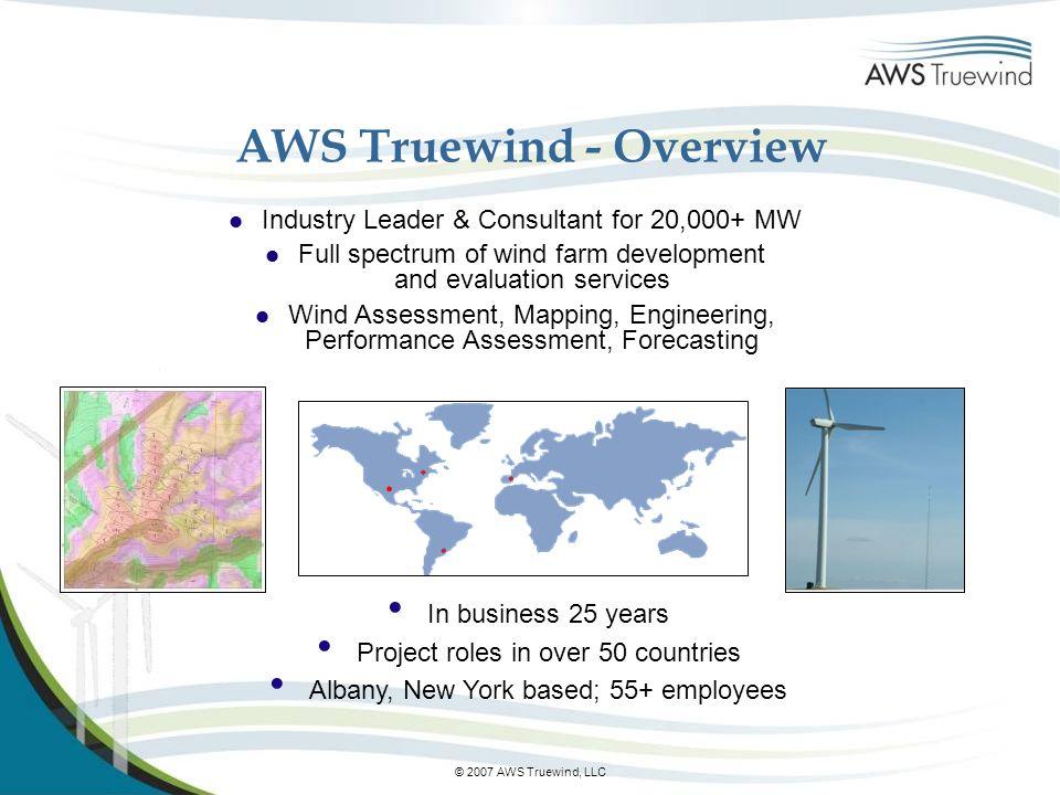 AWS Truewind - Overview