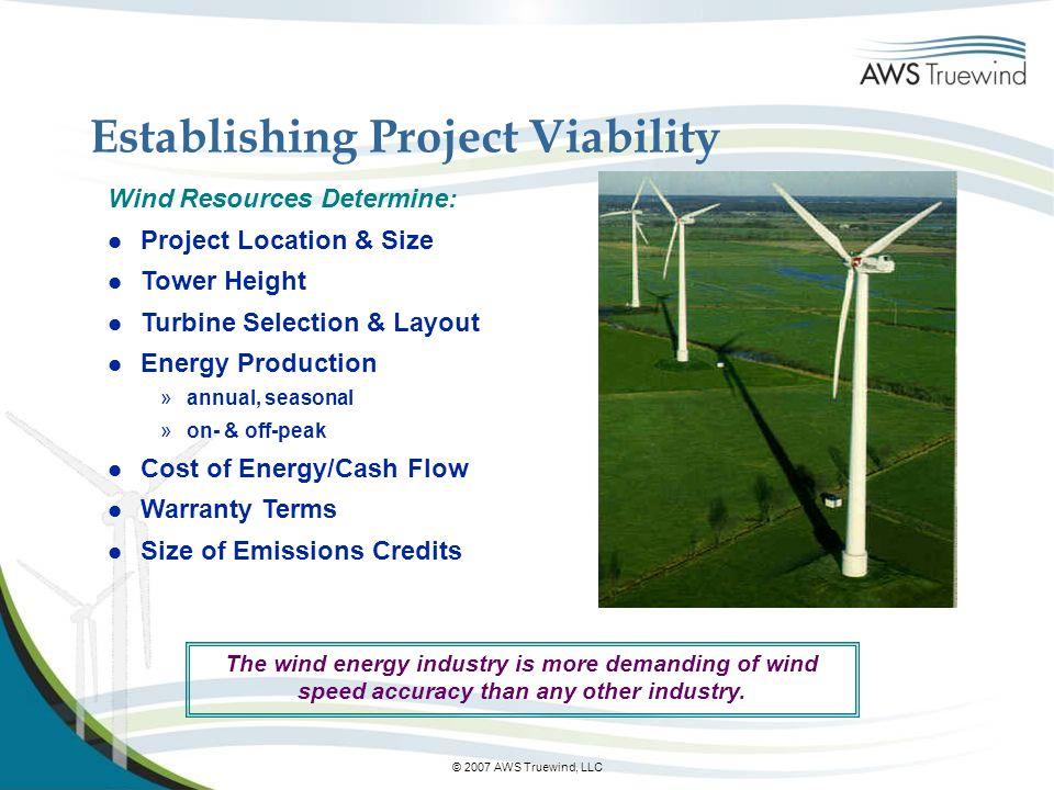 Establishing Project Viability