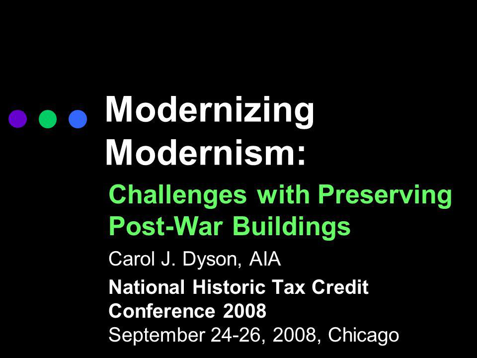 Modernizing Modernism: