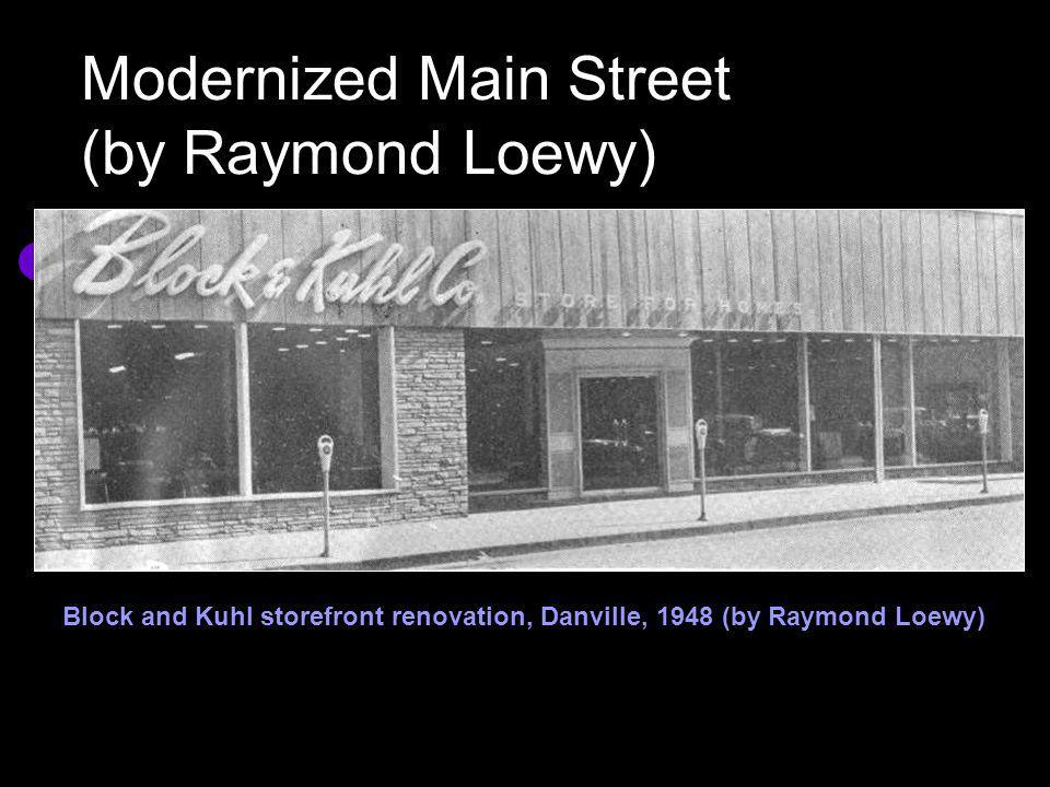 Modernized Main Street (by Raymond Loewy)