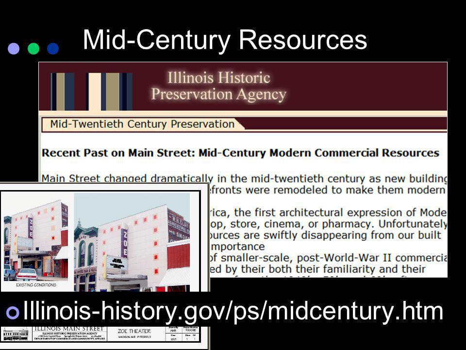 Mid-Century Resources