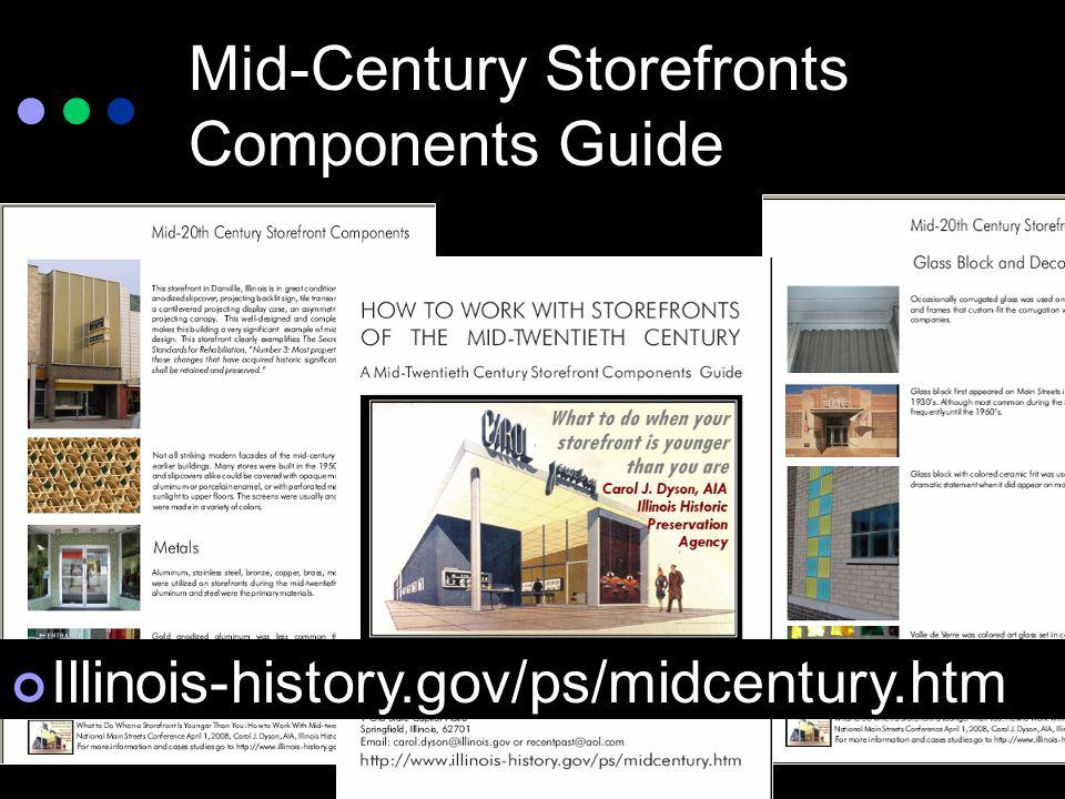 Mid-Century Storefronts Components Guide