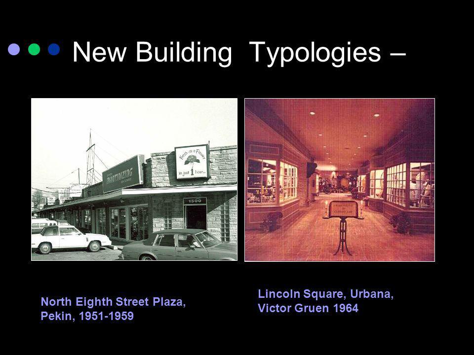 New Building Typologies –