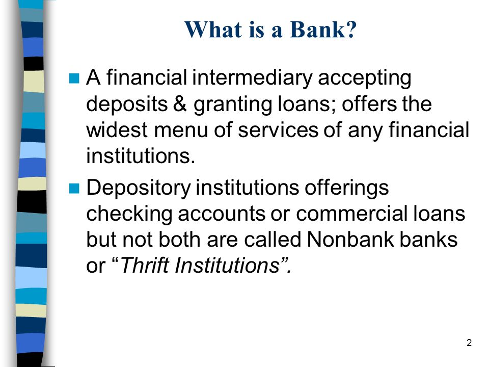 An Overview of Banks & Their Services - ppt video online download