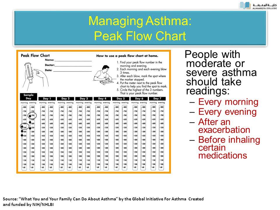 Sample Peak Flow Chart Peak Flow Chart Templates Samples Forms Dr